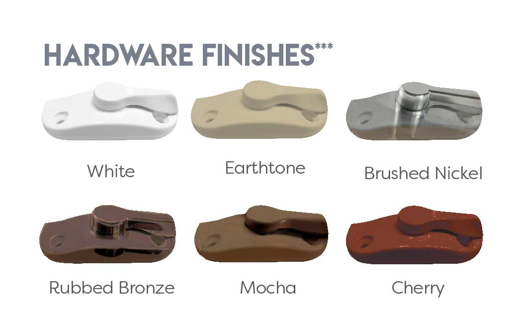 Hardware Finishes