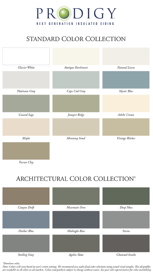 Prodigy – Standard Color Collection